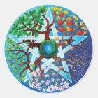 Seasons Pentacle Sticker