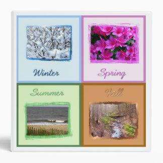 Seasons Photo Binder