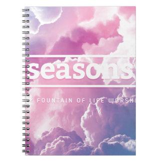 [ seasons ] Spiral Notebook
