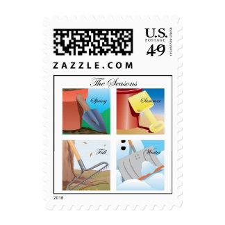 Seasons Stamp