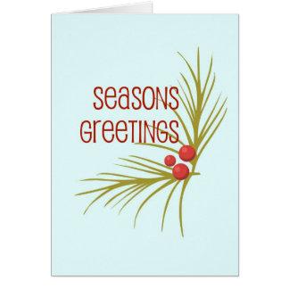 SeasonsGreetings Card