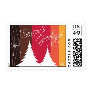 Seasons's Greetings Holiday Postage
