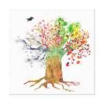 seasonstreebird canvas stretched canvas prints