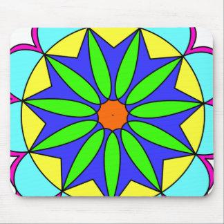 Seastar Mandala Mouse Pad