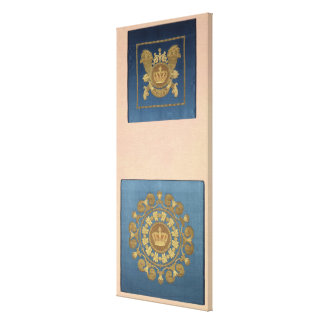 Seat backs by Grand-Freres of Lyons, 1811 Gallery Wrapped Canvas