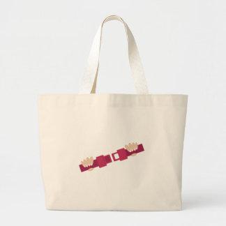 Seat Belt Jumbo Tote Bag