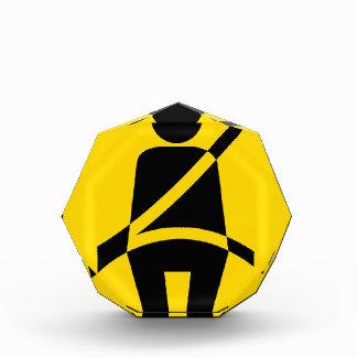 Seat belt Reminder Icon Acrylic Award