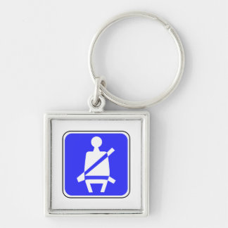 Seat Belt Sign Keychain