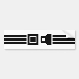 Seat Belts Save Lives Bumper Sticker