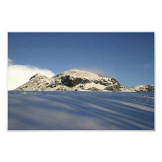Seat de Arturo debajo de la nieve Impresiones Fotograficas