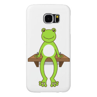 < Seat frog >Sitting frog Samsung Galaxy S6 Case