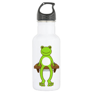 < Seat frog >Sitting frog Stainless Steel Water Bottle