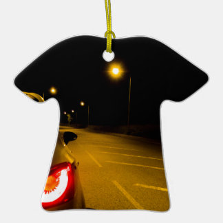 Seat Ibiza en el camino solo Adorno De Cerámica En Forma De Camiseta