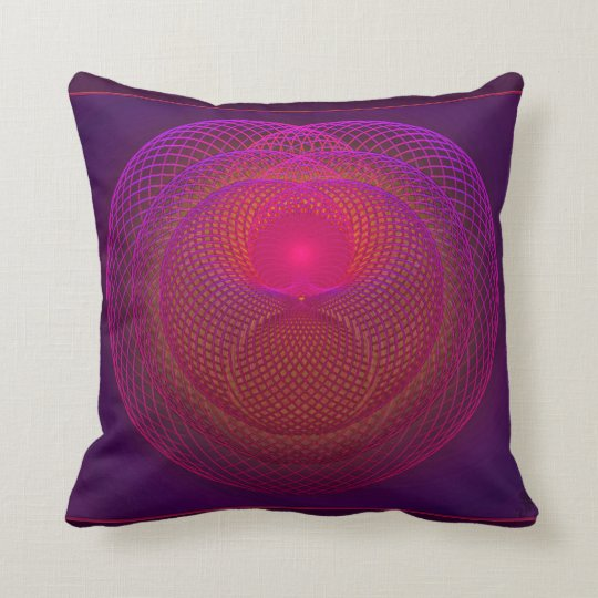 Seat of the Soul Throw Pillow