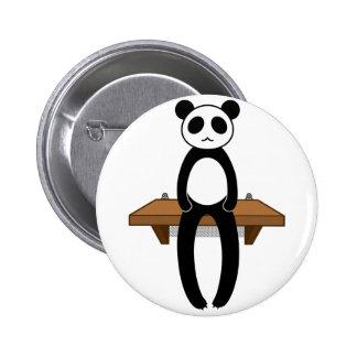 < Seat panda >Sitting panda Button