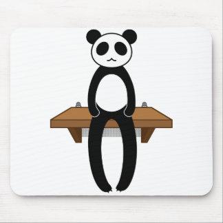 < Seat panda >Sitting panda Mouse Pad