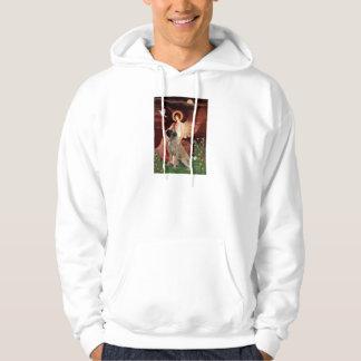 Seated Angel - Bull Mastiff #1 Pullover
