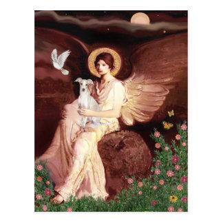 Seated Angel - Italian Greyhound 7 Postcard