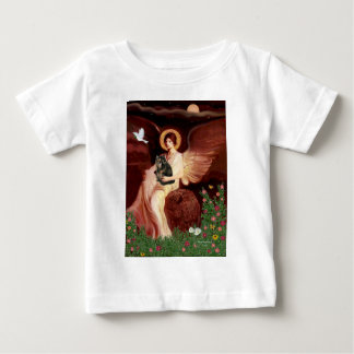 Seated Angel - Persian Calico cat Baby T-Shirt