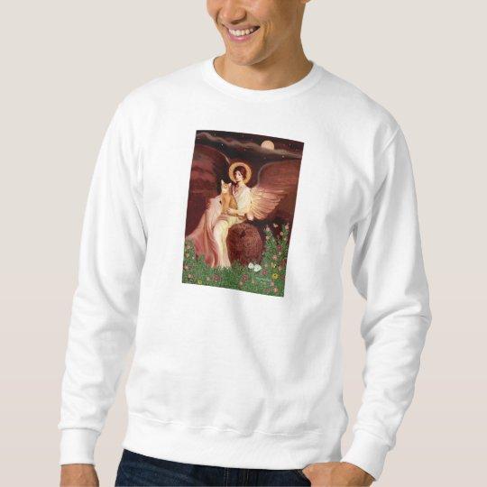 Seated Angel - Red Abyssinian Sweatshirt