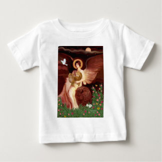 Seated Angel - Red Persian cat Tees
