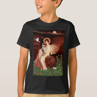 Seated Angel - Sphynx cat T-Shirt