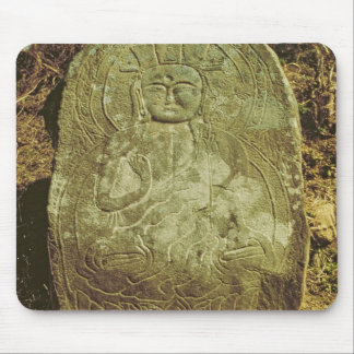 Seated Bodhisattva, Korean, c.985 AD (granite) Mouse Pad