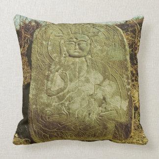 Seated Bodhisattva, Korean, c.985 AD (granite) Pillow