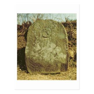 Seated Bodhisattva Korean c 985 AD granite Post Cards