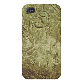 Seated Bodhisva, Korean, c.985 AD (granite) Cover For iPhone 4