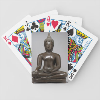 Seated Buddha - 15th century Bicycle Playing Cards