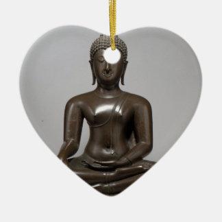 Seated Buddha - 15th century Ceramic Ornament