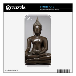 Seated Buddha - 15th century Decals For iPhone 4S