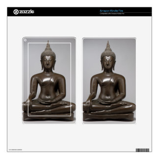 Seated Buddha - 15th century Skins For Kindle Fire