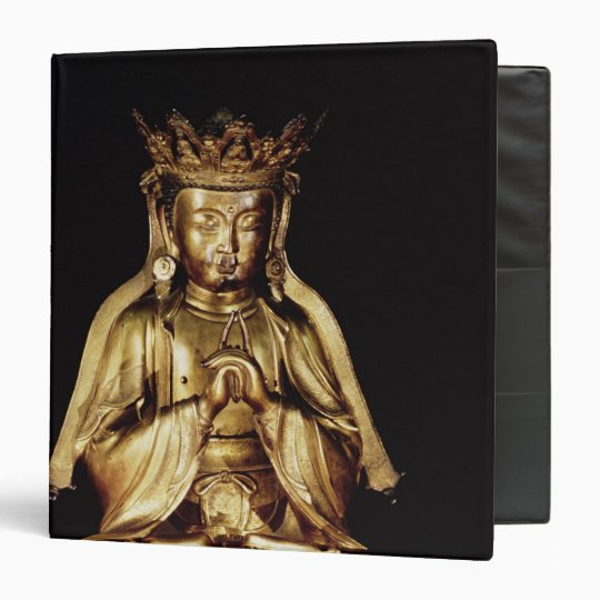 Seated Buddha Binder