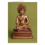 Seated Buddha Card