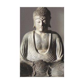 Seated Buddha Image Canvas Print