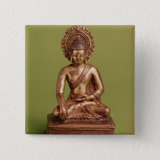 Seated Buddha Pinback Button