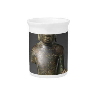 Seated Buddha - Pyu period Beverage Pitcher