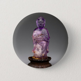 Seated Buddha - Qing dynasty (1644–1911) Pinback Button