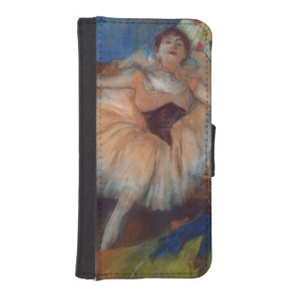 Seated Dancer, 1879-80 iPhone 5 Wallet Case