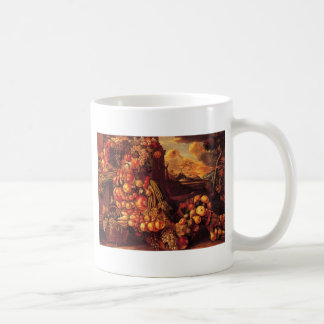 Seated Figure of Summer by Giuseppe Arcimboldo Coffee Mug