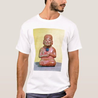 Seated figure, possibly one  earliest T-Shirt