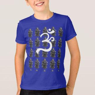 Seated Ganesha Om Kids T-Shirt