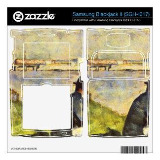 Seated man by Georges Seurat Samsung Blackjack II Skin
