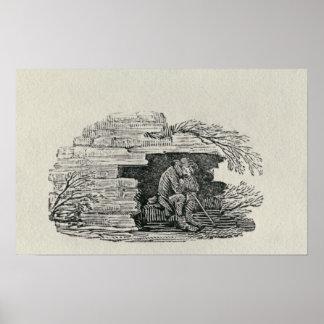 Seated Man Print