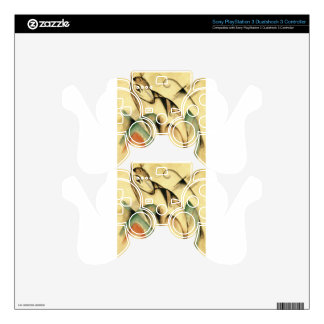 Seated Mythical Animal by Franz Marc PS3 Controller Decal