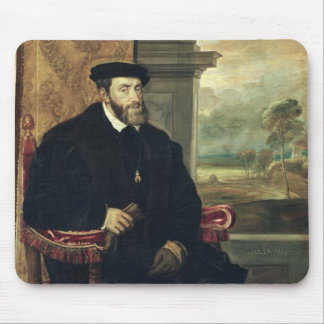 Seated Portrait of Emperor Charles V  1548 Mouse Pad
