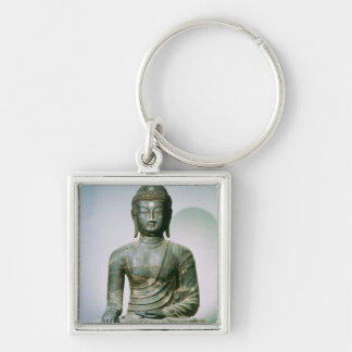 Seated Sakyamuni Buddha from Ch'ungung-ni (iron) Keychain