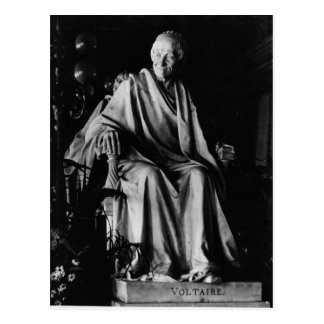 Seated sculpture of Voltaire Post Cards